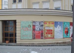 bannery Slezské divadlo Opava